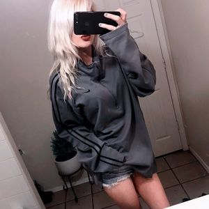 ✔️ Nike Pullover Grey Sweatshirt